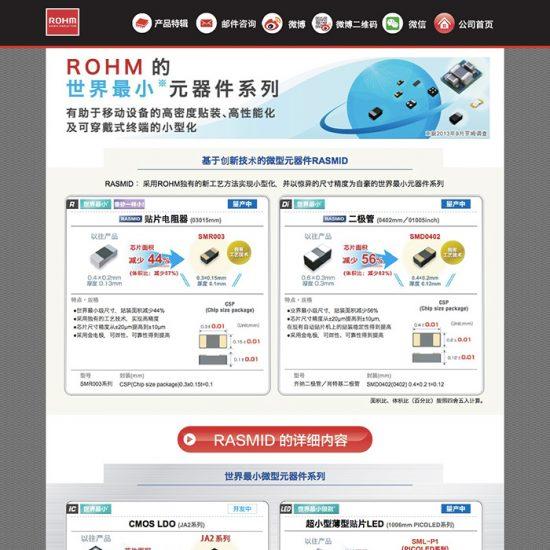 ROHM罗姆世界最小元器件系列-20150815
