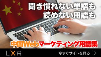 中国Webマーケティング用語集